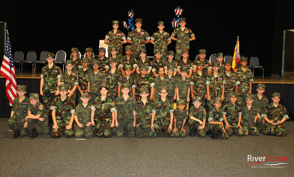 Recruits Promoted To Young Marines