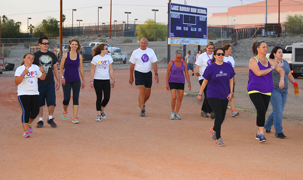 Walkers Fight Cancer At Relay For Life