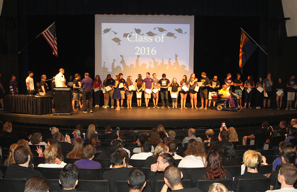 Outstanding Students Honored At LHHS Assembly