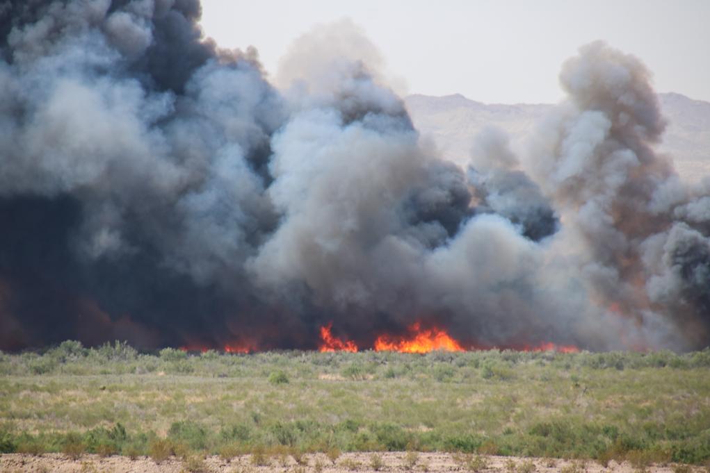 Topock Fire Update