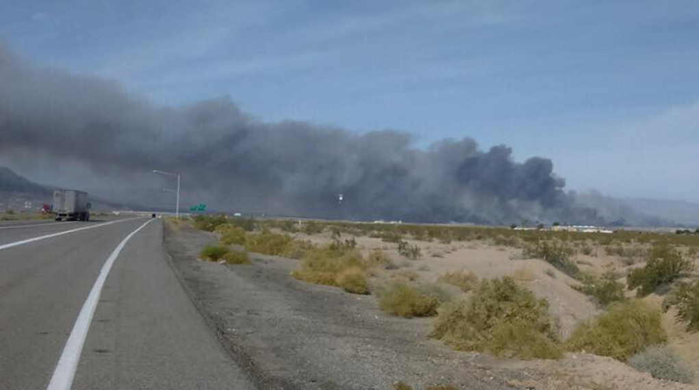 Park Moabi Threatened By Fire