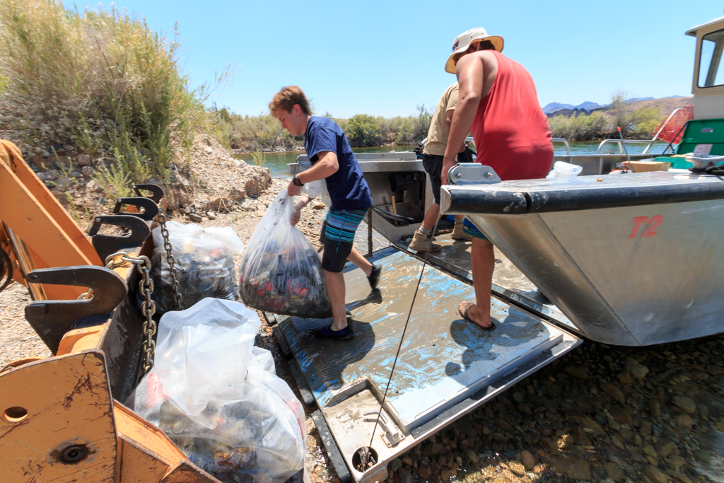 Copper Canyon Underwater Cleanup
