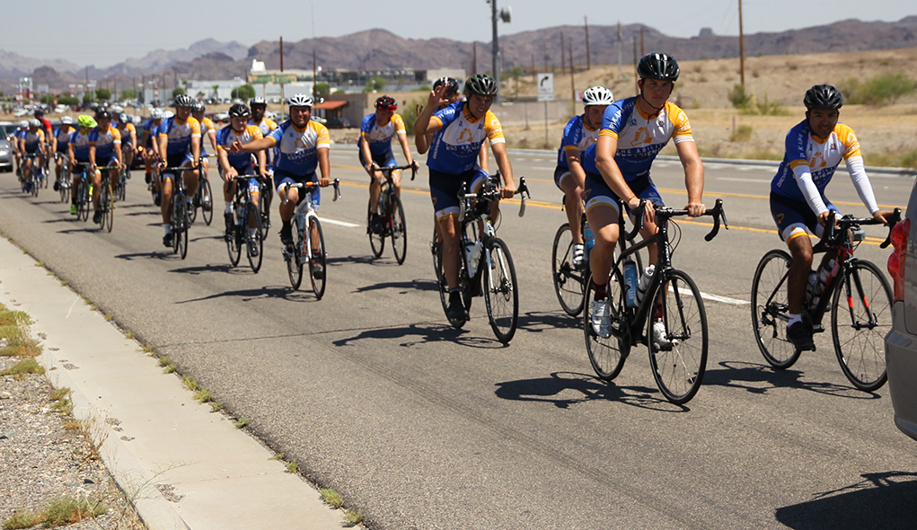 Journey Of Hope Pedals Its Way Into The Heart Of Havasu
