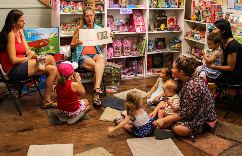 Storytime Offers Summer Entertainment