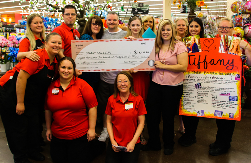 Smith's Employees Raise Money For One Of Their Own