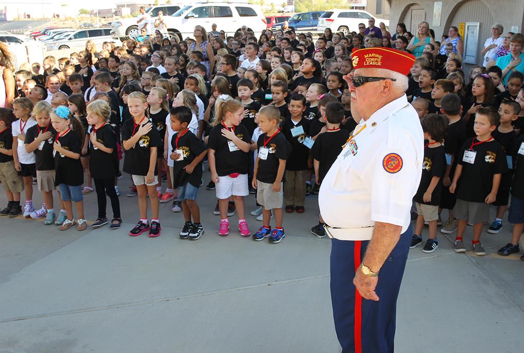 Telesis  Starts New School Year With Flag Raising Ceremony