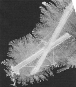 Runway 1943, courtesy of National Archives Brian Rehwinkel - Kingman Emergency Field, S6