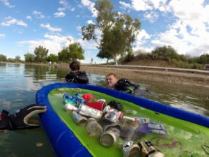 Channel Scuba Cleanup. 2015. Nathan Adler/RiverScene