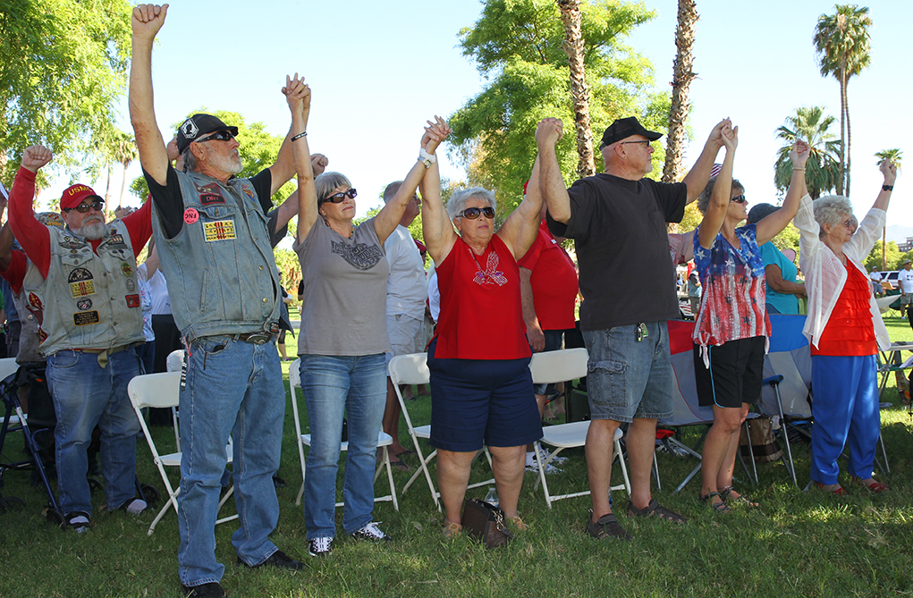 Hundreds Turn Out For 9/11 Rededication Ceremony In Lake Havasu City