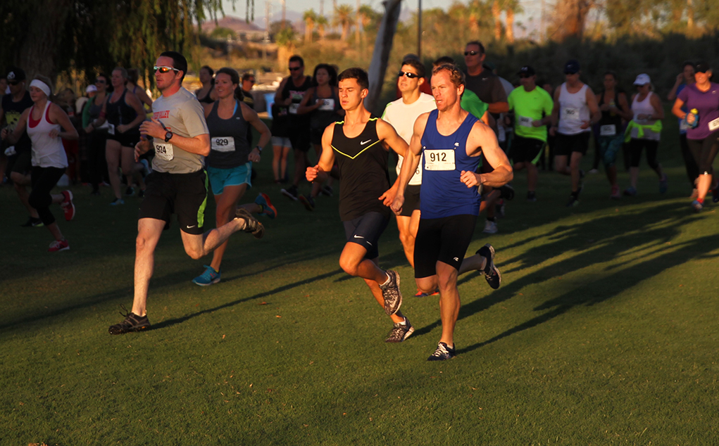 Mark Weston And Fun Run Results