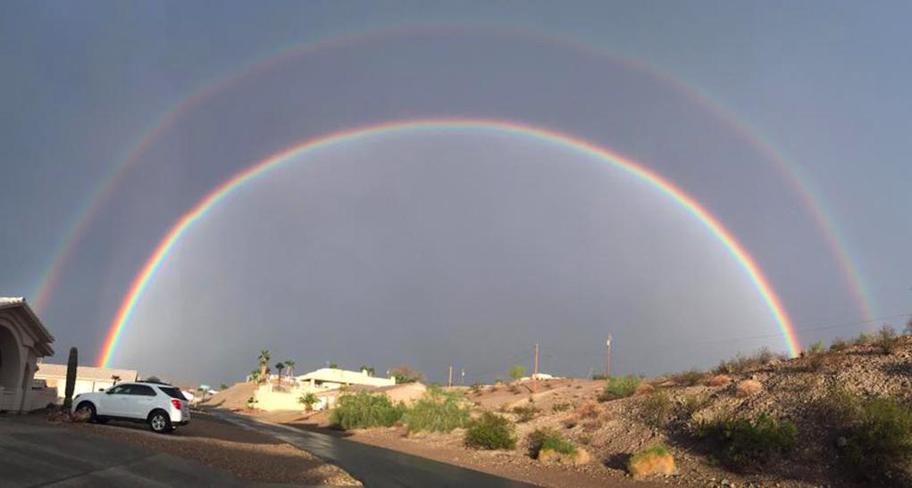 Fan Photo Gallery: Rainbows Over Havasu