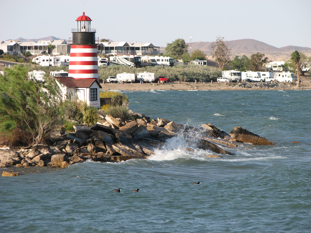 Exploring Havasu: 'The City With The Most Lighthouses'
