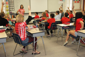 Thunderbolt students participate in part of the Capturing Kids' Hearts program. Jillian Danielson/RiverScene