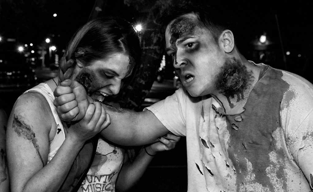 Zombies Invade Downtown Lake Havasu City Saturday During Annual Pub Crawl