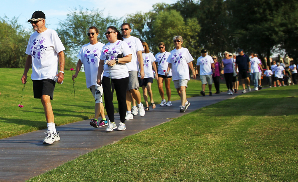 Domestic Violence Awareness Walk