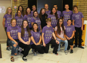 Lake Havasu High School students pose for a photo at the mathematics competition. Jillian Danielson/RiverScene