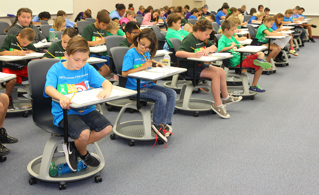 Elementary Students Show Math Skills In Competition