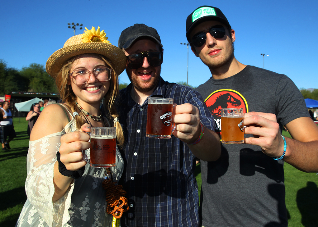 Chillin 'N Swillin Beer Festival Brings Out Beer Lovers In Droves Saturday