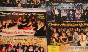Cancer Association brochures from over the years. Jillian Danielson/RiverScene