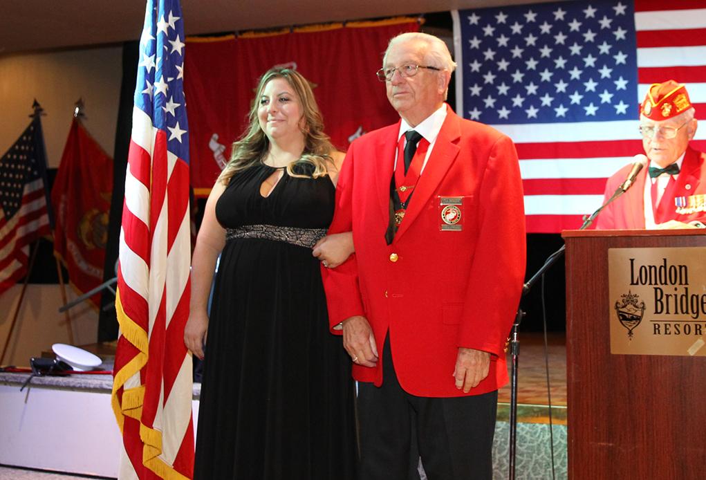 Marine Corps Ball Dedicated To Wife Of Fallen Marine