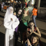 Fright Night, on Main Street. Fun, Safe Tradition for Havasu Friends and Family. Awesome turnout. October 31, 2016 - Ken Gallagher/RiverScene