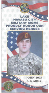 An example of a banner by Southside signs. photo courtesy Military Moms