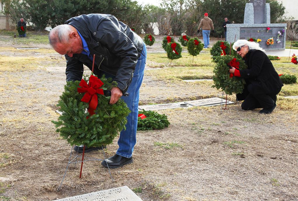 Annual Labor Of Love Punctuates Christmas Season At Memorial Gardens