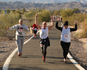 Havasu Community Health Foundation's Jingle Bell 5K for health and wellness! Ken Gallagher/RiverScene