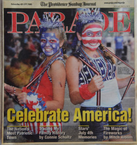 Silva's cover photo for Parade Magazine. photo courtesy Ron Silva