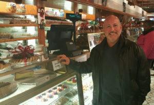 Chef John poses for a photo at a New York bakery. Photo courtesy John Andreola