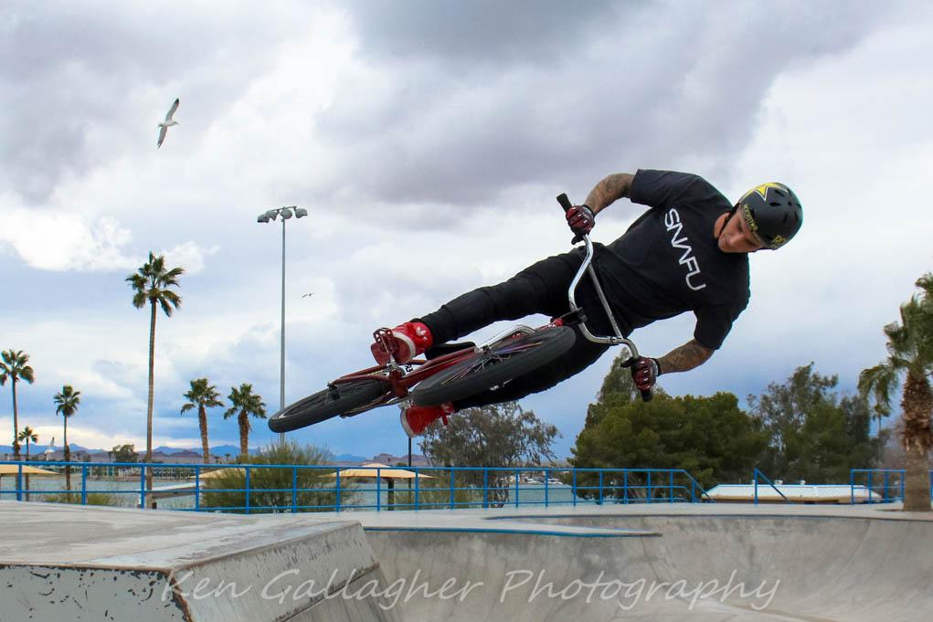Gettin' in a little practice at Tinnell Memorial Sports Park. Ken Gallagher/RiverScene