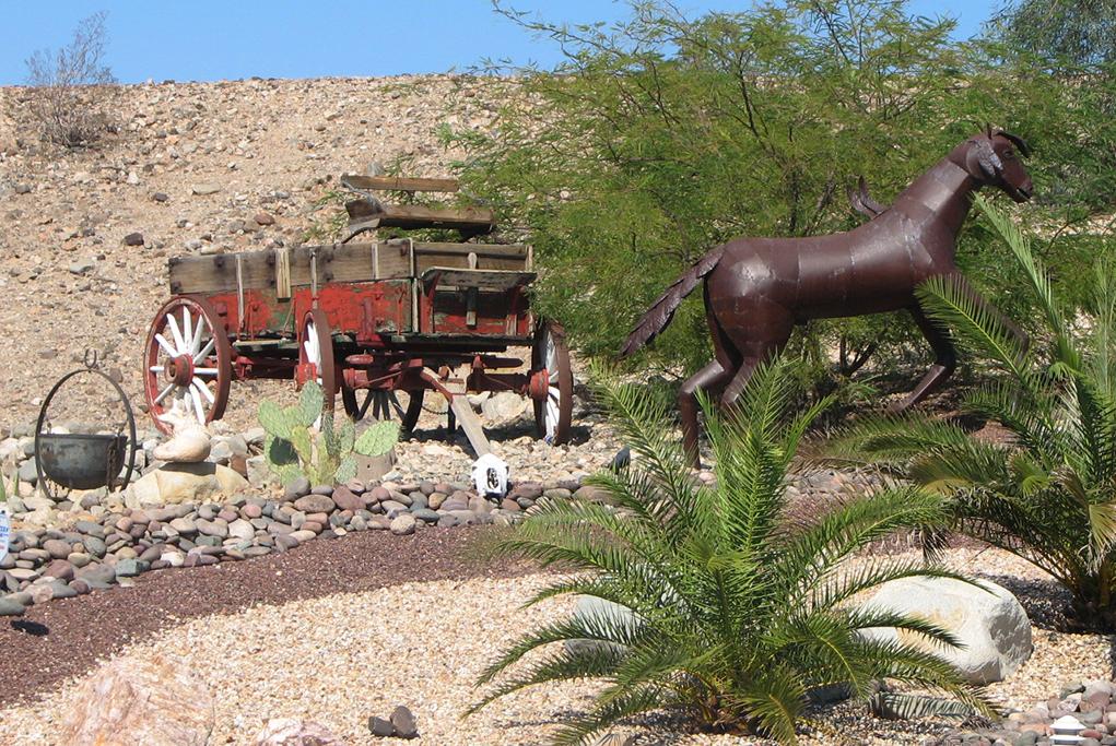 Desert Yard Art