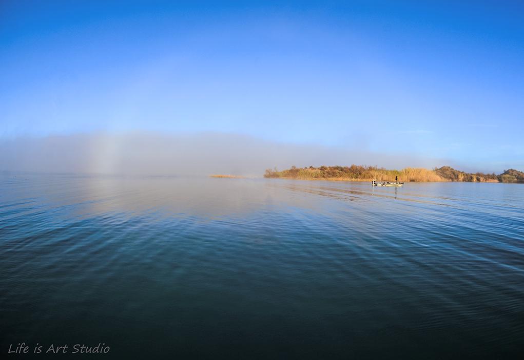 Havasu In A Fog