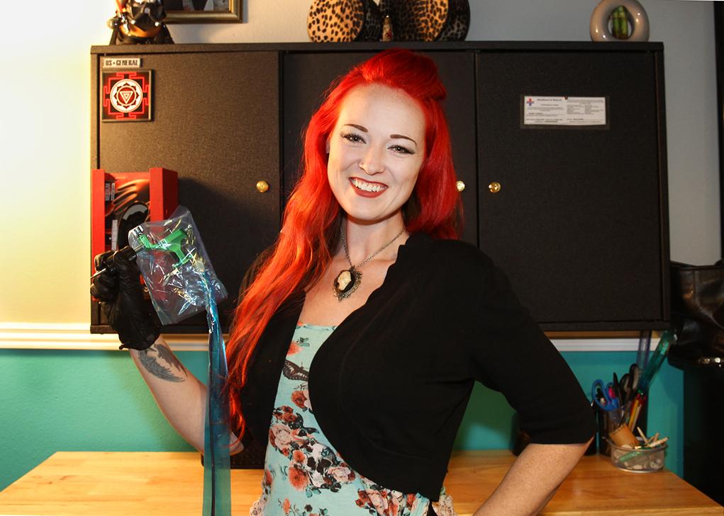 CITIZEN SPOTLIGHT: 'Red', Local Woman Tattoo Artist