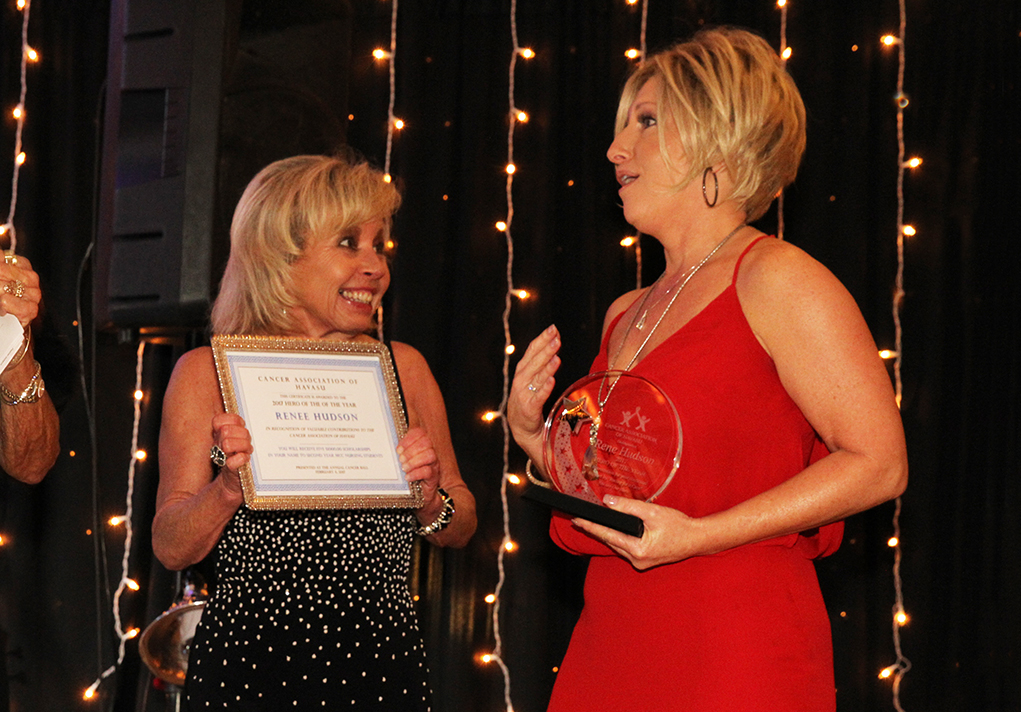 Renee Hudson Named Hero Of The Year At Cancer Ball