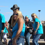 Havasu Community Health Foundation hosted the 6th Annual Line Dance on London Bridge. Ken Gallagher/RiverScene