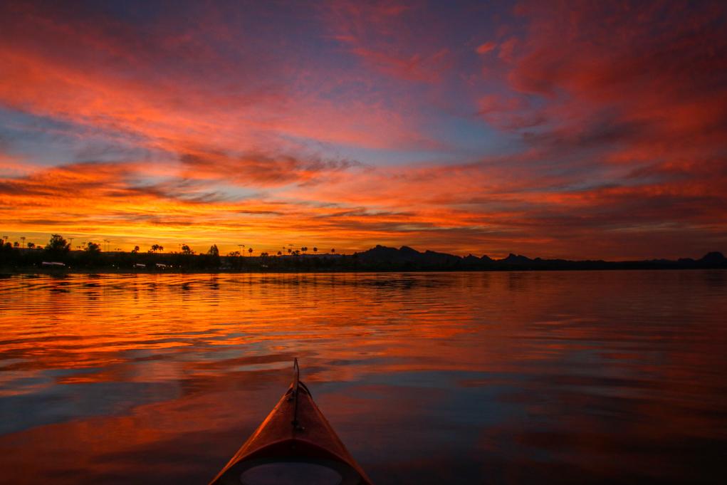 Sunrise Over Havasu