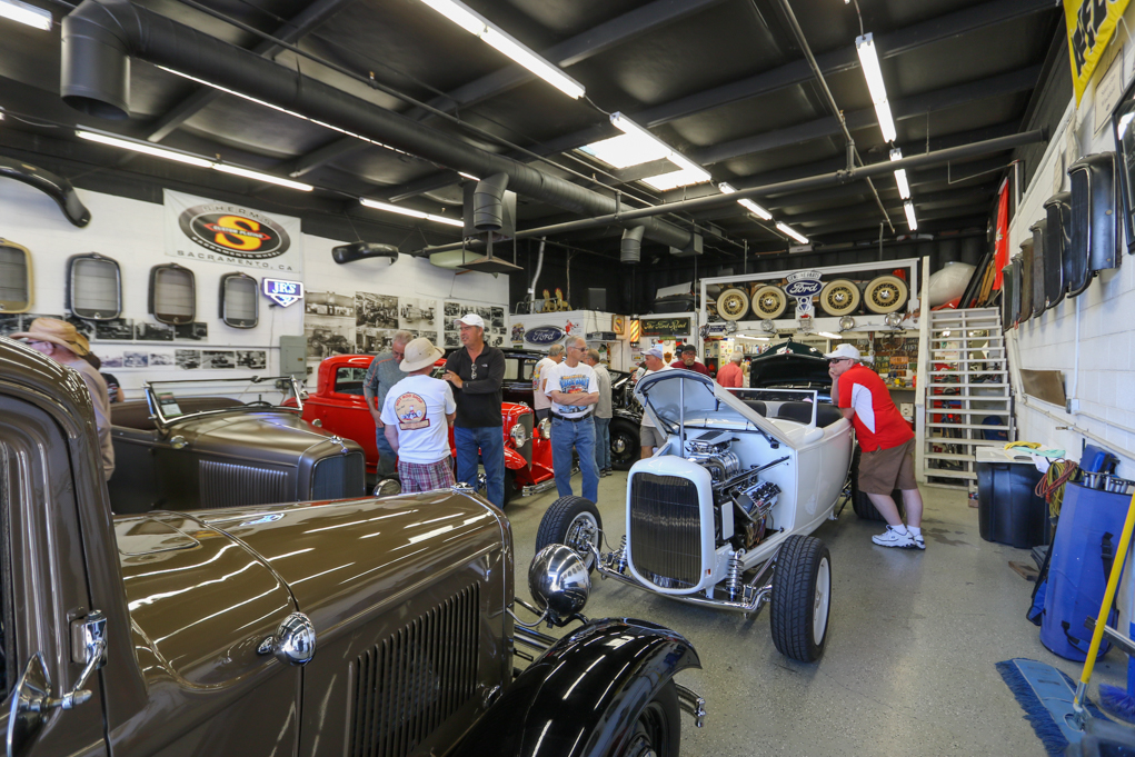 river scene magazine garage tour wows car enthusiasts