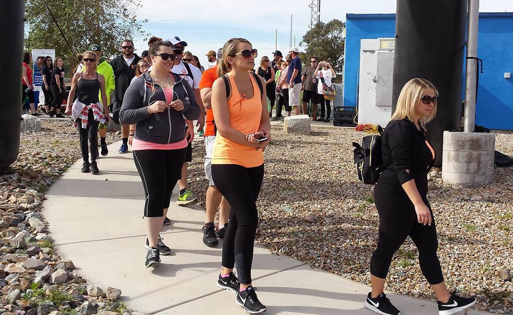 Walk MS Raises $9,000