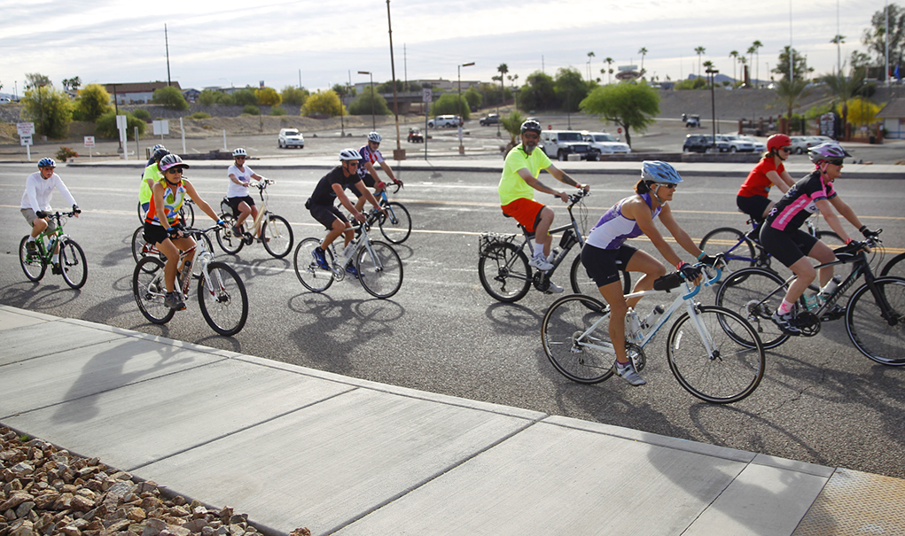 Cyclists Ride In Remembrance