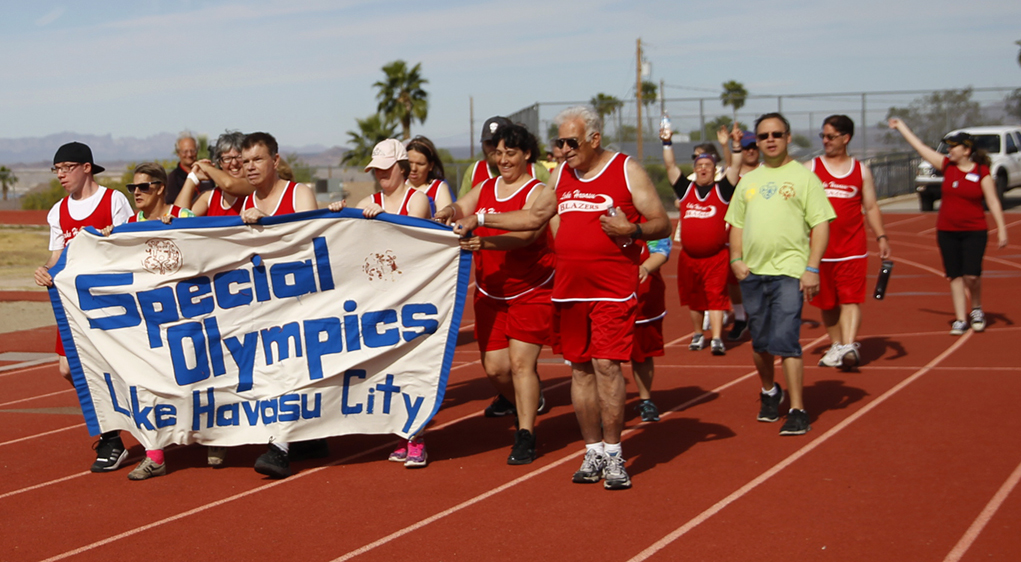 Special Olympians Compete At Thunderbolt