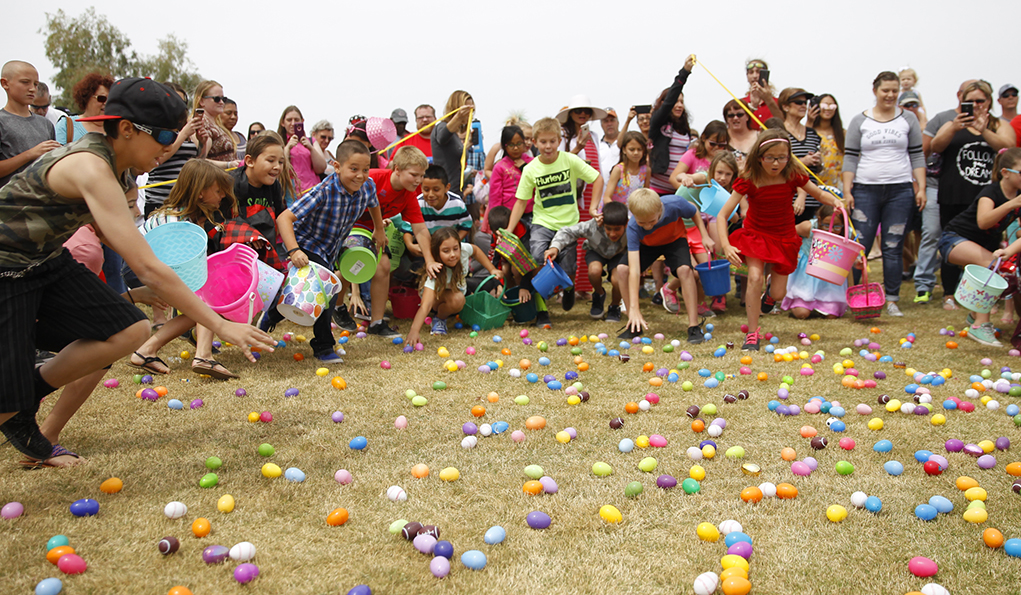 LHC Youth: 'Easter Bunny Rides A Motorcycle'