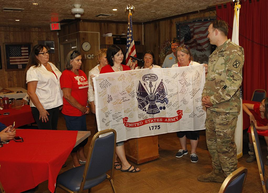 Lake Havasu City Welcomes Home Sgt. Lawrence Allen Ball Jr.