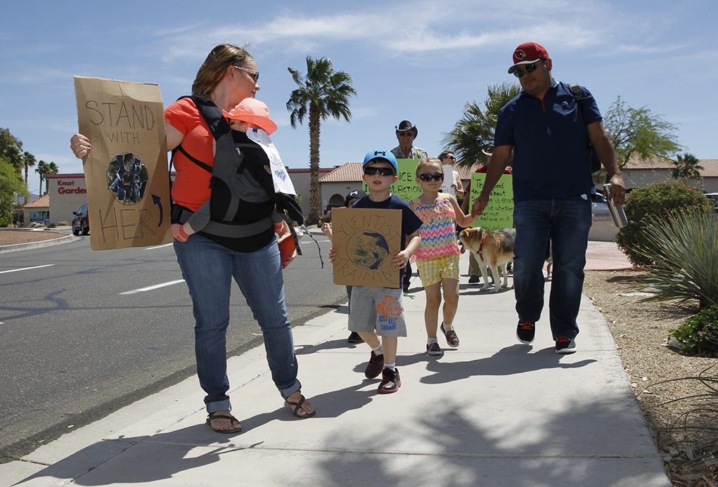 Marching For Science In Lake Havasu City