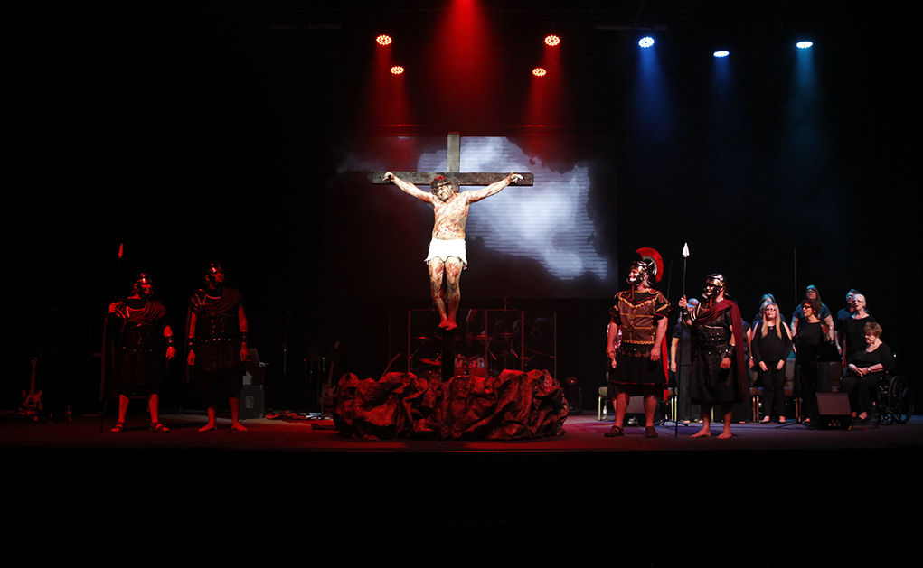 'The Passion Experience' At Calvary Through Weekend