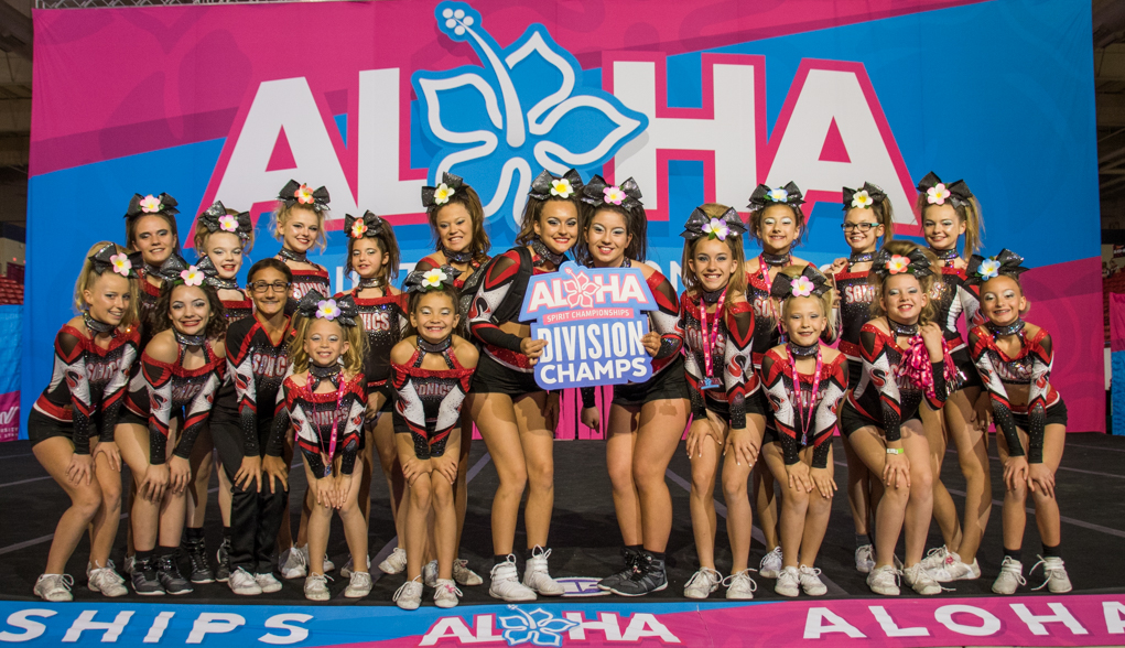 Universal Gymnastics And All Star Cheer Compete In Las Vegas