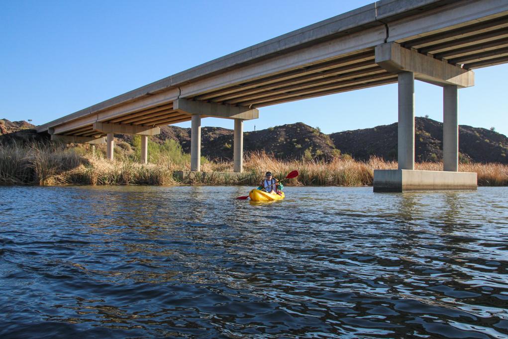 Exploring Havasu: Kayaking