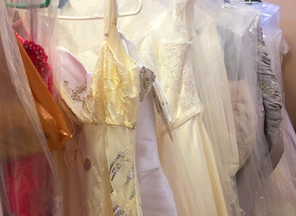 Brides Offered Wedding Gowns