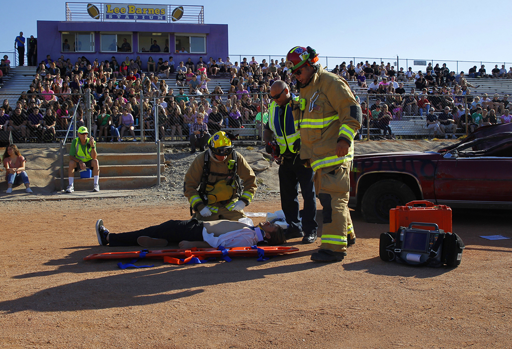 Students Learn The Dangers Of Drunk Driving Through 'Operation Prom Night'