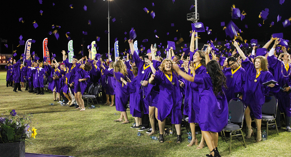 LHHS Class of 2017 Graduates Flip For New Beginnings At Ceremony